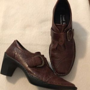 NWOT Joseph Seibel Brown Leather Shoes